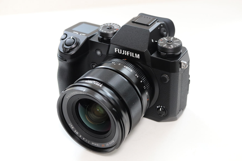 X-H1とXF16mmF1.4