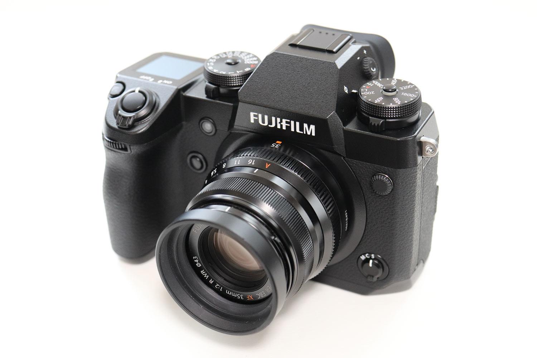 X-H1とXF35mmF2