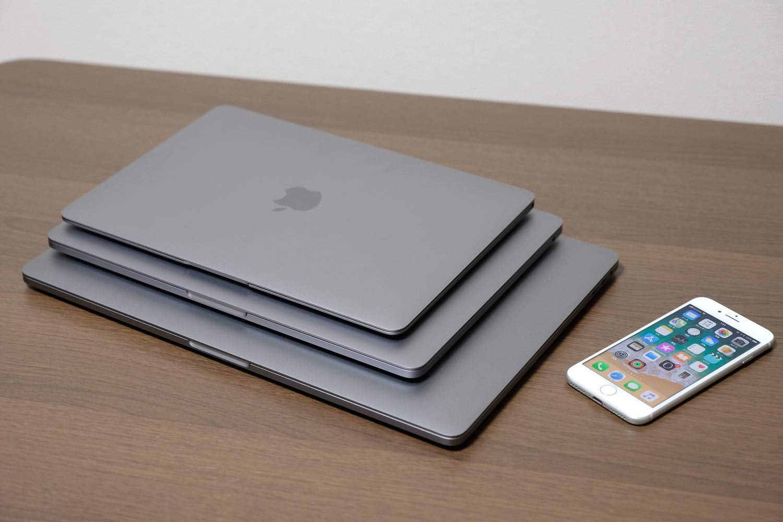 MacBookシリーズ デザイン比較