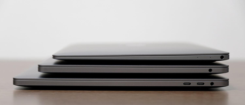 MacBookシリーズ比較 サイドスタイル