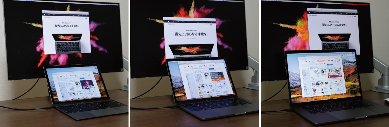MacBookシリーズ 外部モニター接続