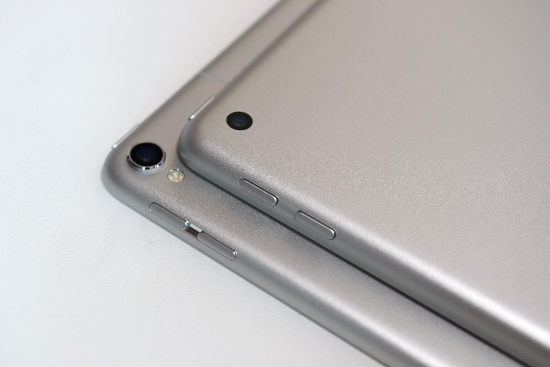 iPadとiPad Proのカメラレンズ