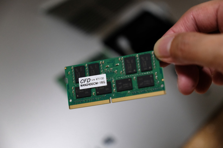 iMacのメインメモリ(RAM)