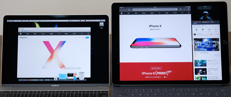 MacBookとiPad Pro バックグラウンド