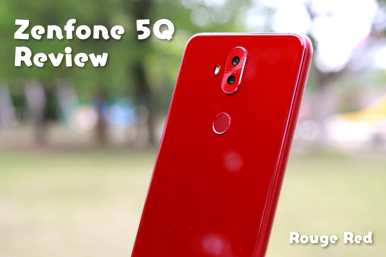 Zenfone 5Q レビュー