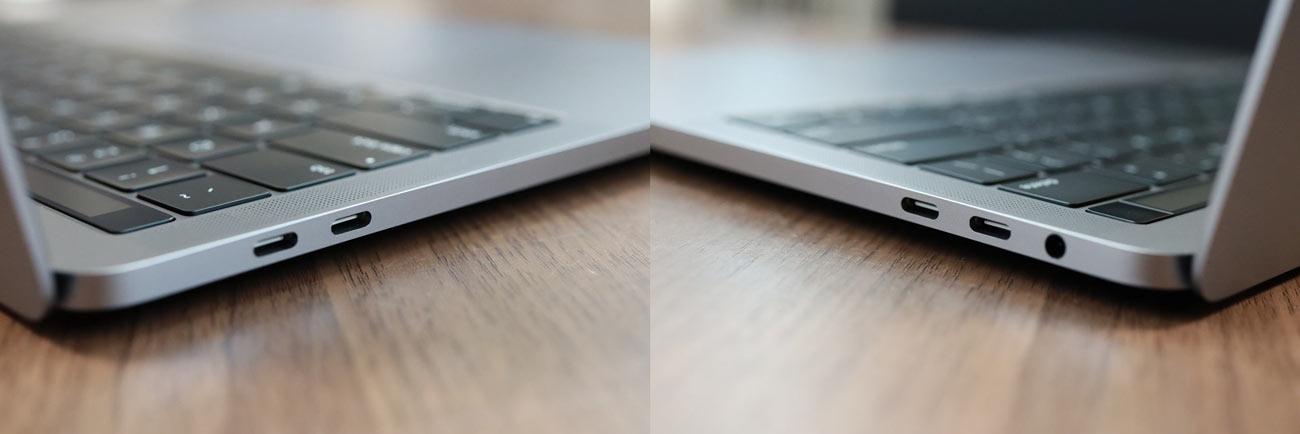 13インチMacBook Pro USB-Cポート