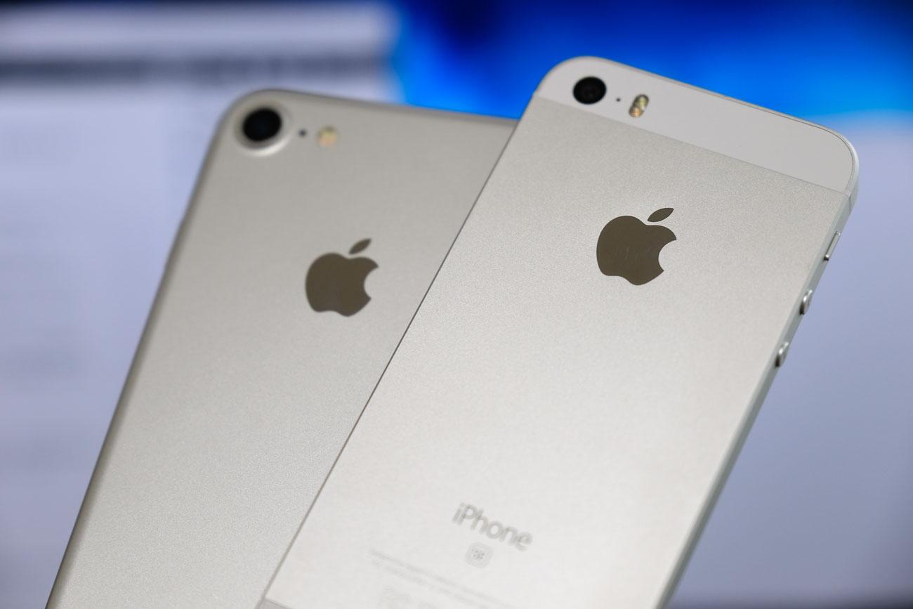 iPhone 7とiPhone SE