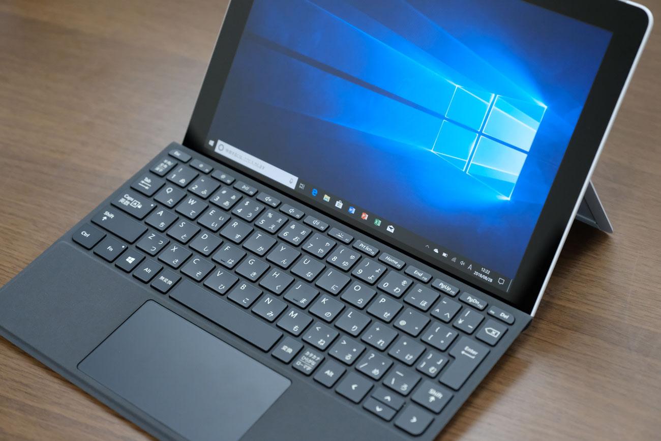 Surface Go タイプカバーキーボード
