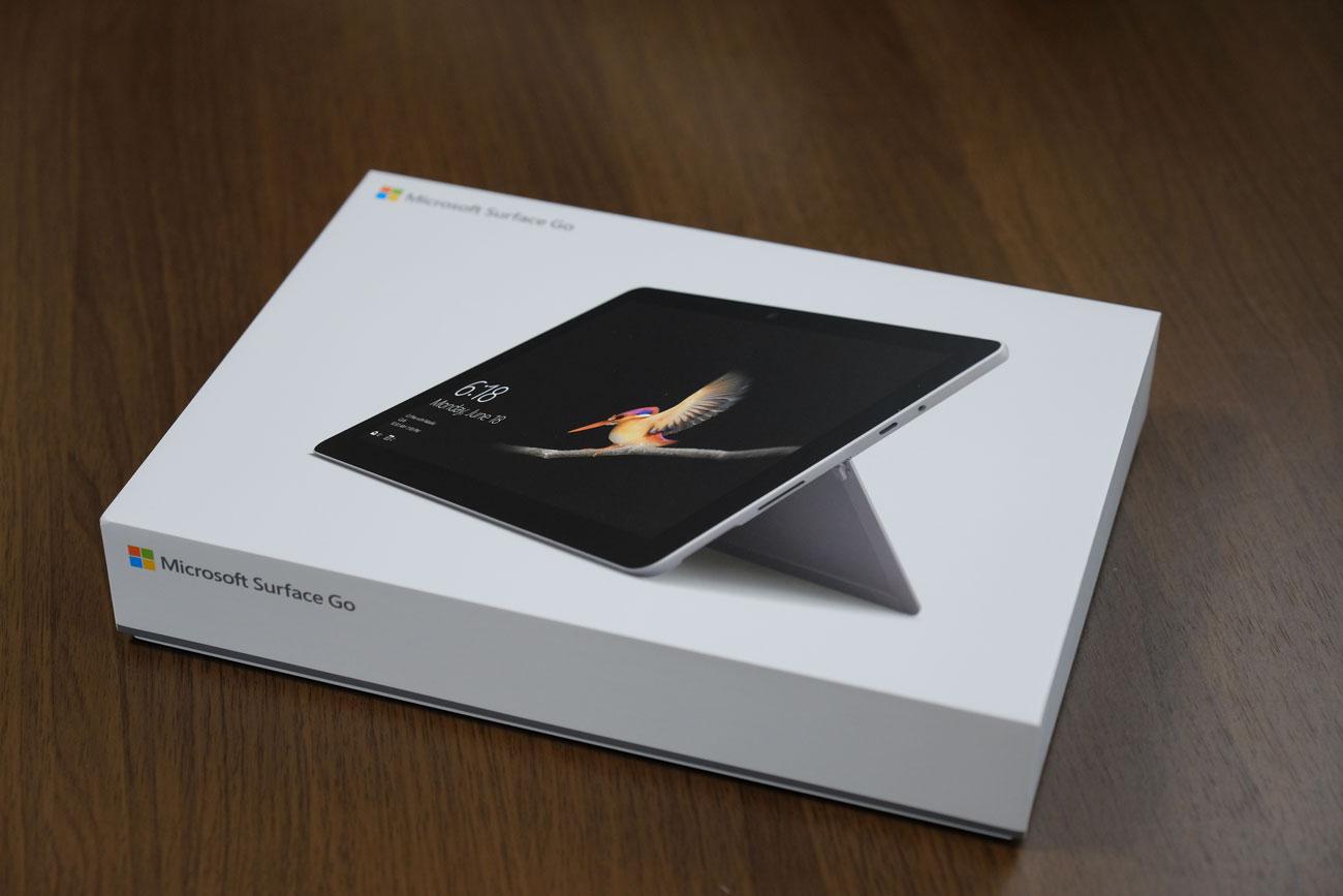 Surface Go パッケージ