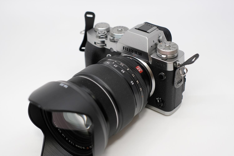 X-T3とXF16-55mm