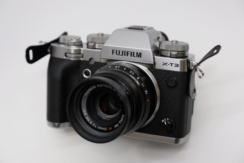 X-T3 + XF35mmF2
