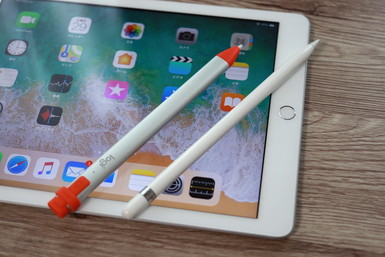 ロジクールクレヨンとApple Pencil