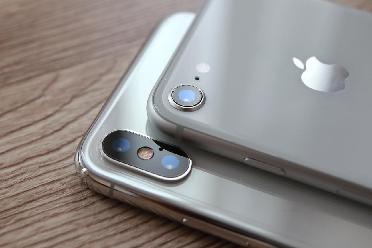 iPhone ダブルカメラとシングルカメラ