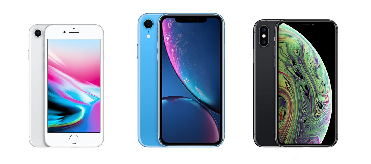 iPhone 8/8 PlusとiPhone XRのサイズ