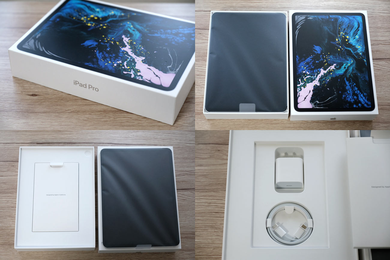 iPad Pro 11 パッケージと付属品