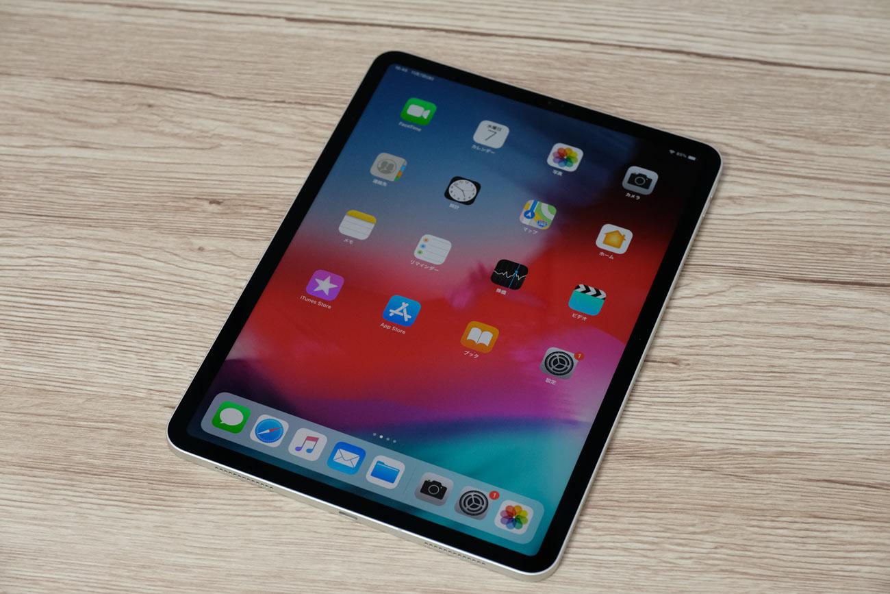 iPad Pro 11インチモデルの外観デザイン