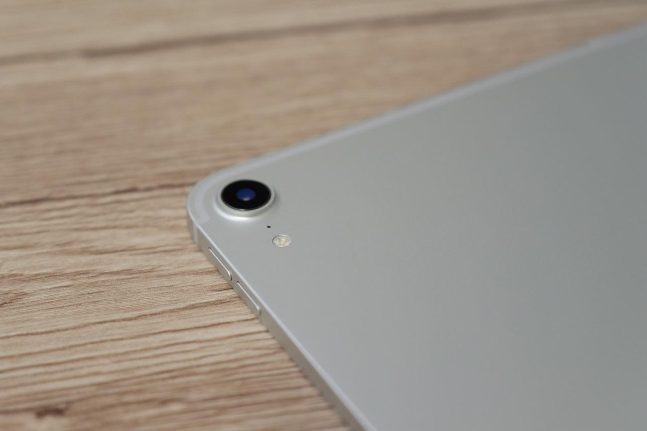 iPad Proのリアカメラ