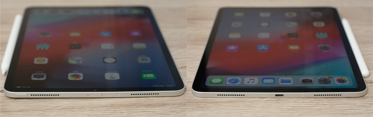 iPad Proは4スピーカーステレオ再生に対応