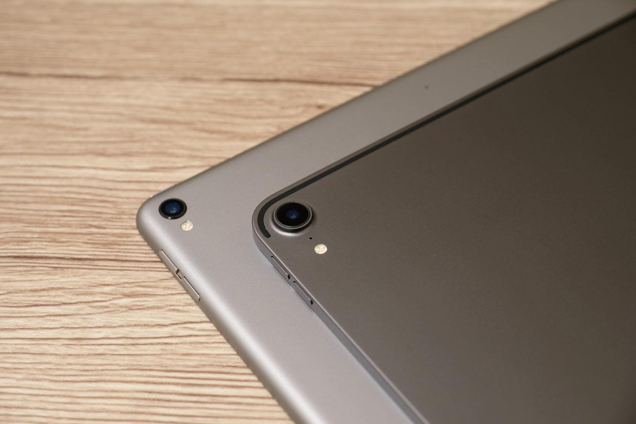 iPad Pro 2017と2018のスペースグレイ