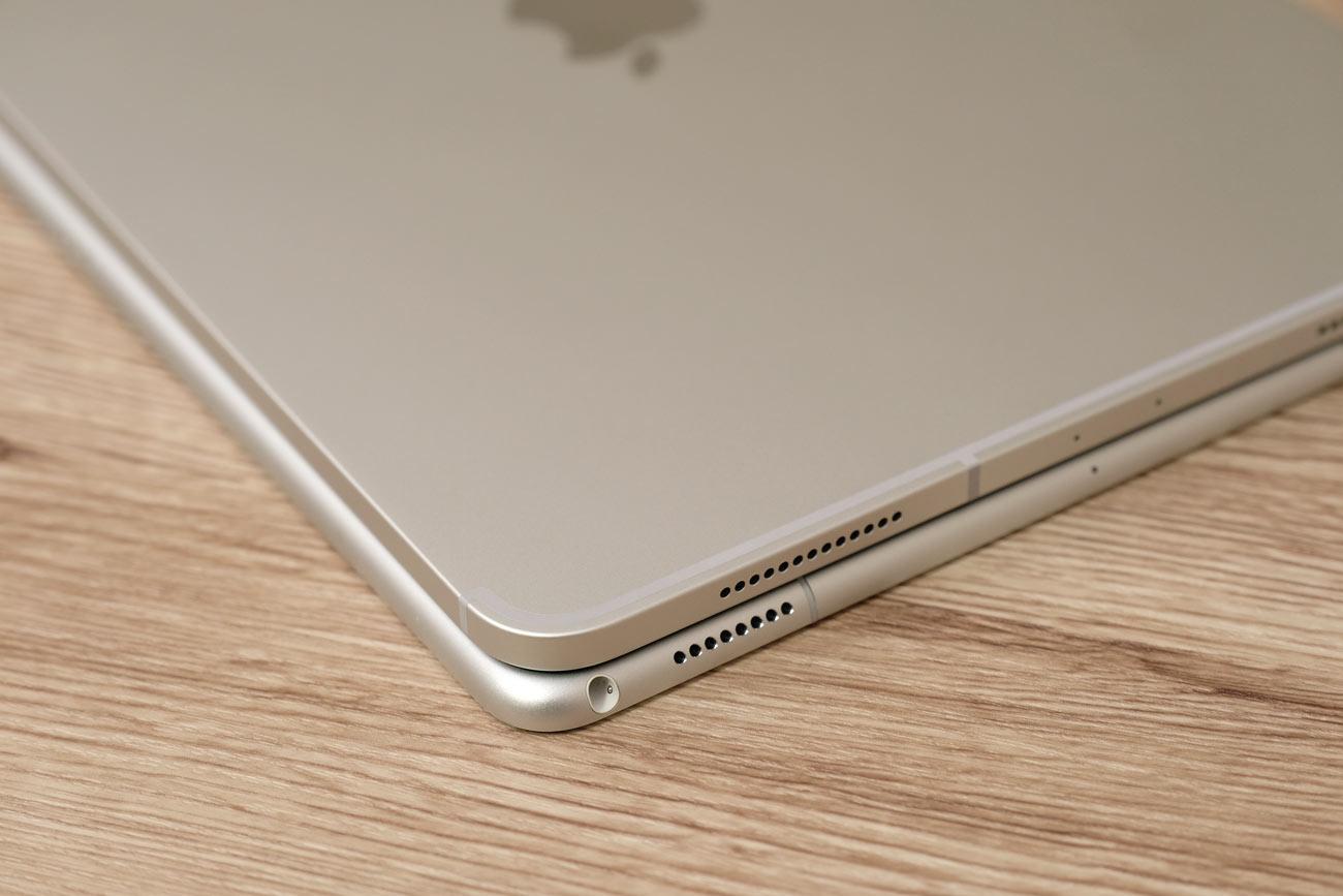 iPad Pro 11 vs 10.5 ヘッドフォンジャック