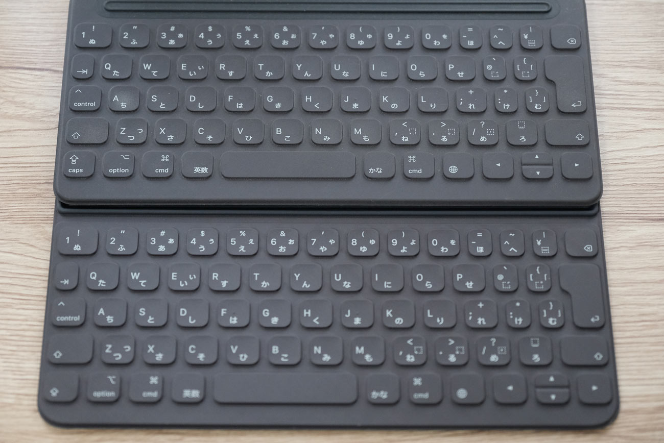 Smart Keyboard Folio キーピッチ