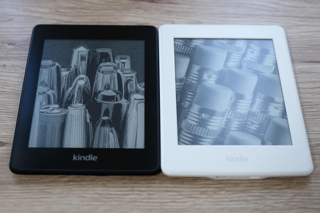 Kindle Paperwhite 新旧の本体デザインの違い