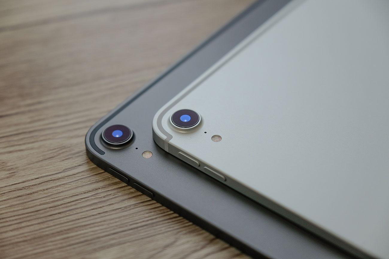iPad Pro 12.9(第3世代)と11インチ カメラ比較