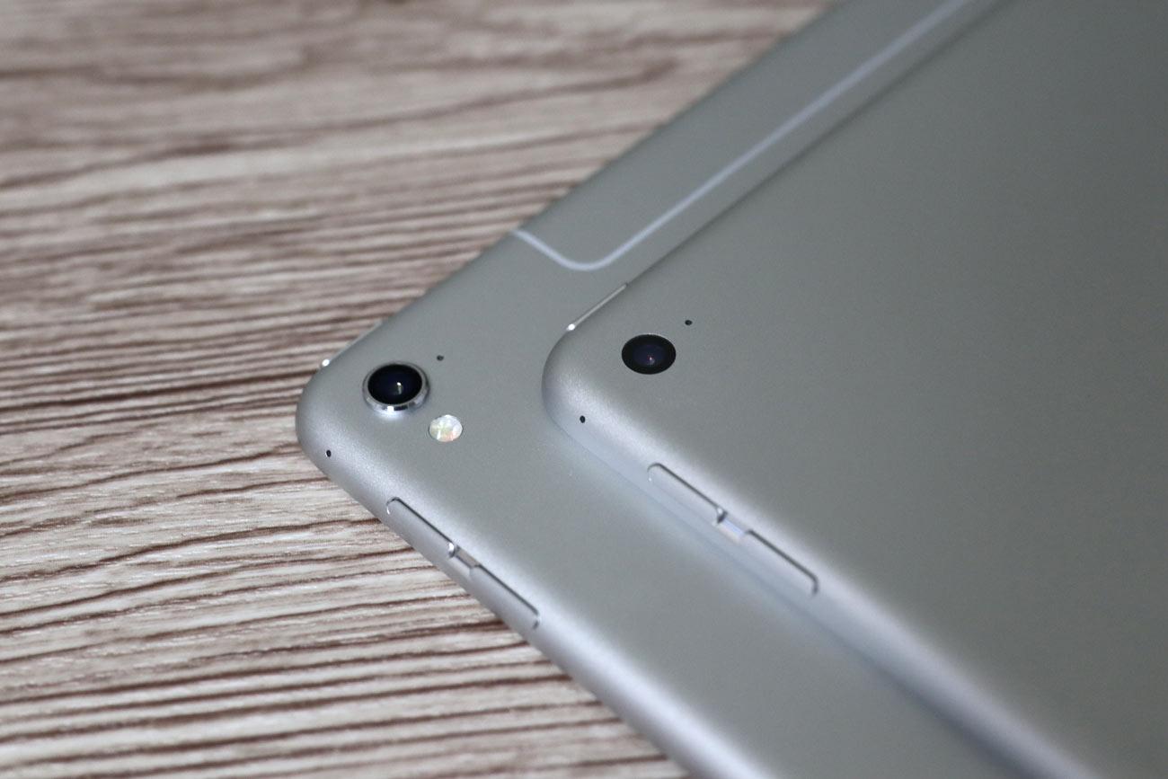iPad Pro 9.7インチとiPad Air 2 カメラの違い