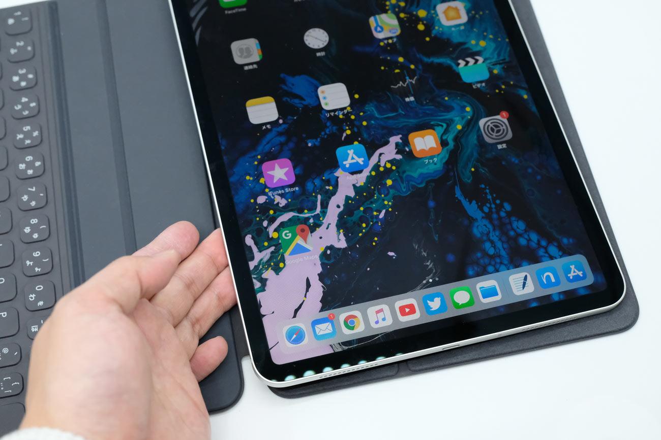 スマートキーボードフォリオをiPad Proに装着する