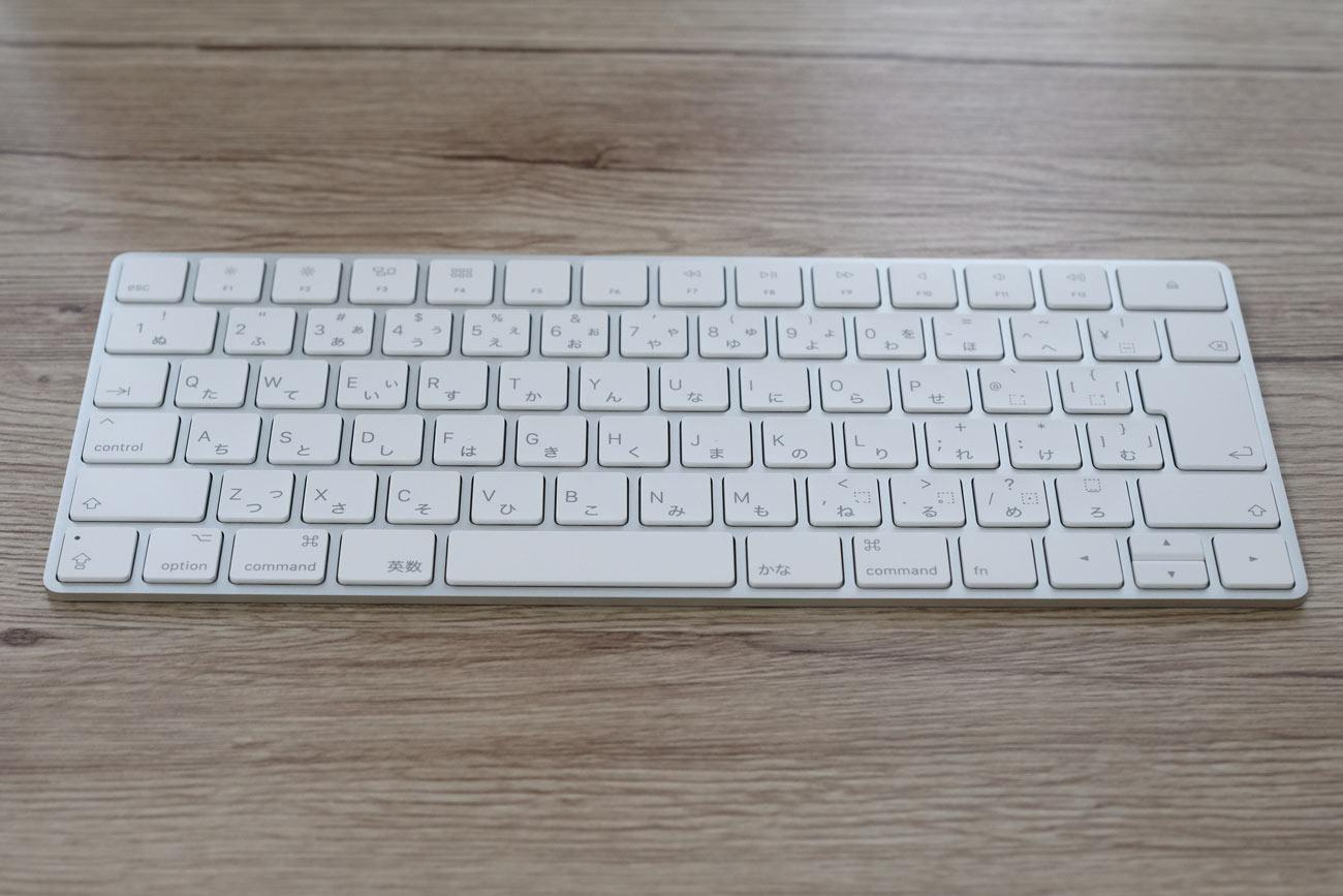 Magic Keyboard(マジックキーボード)の外観デザイン