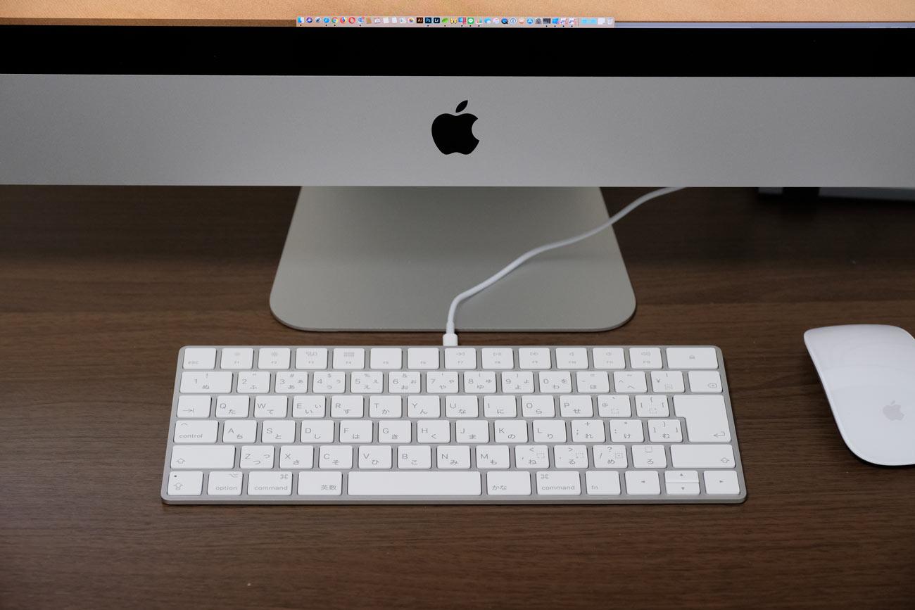 Magic Keyboard 有線で接続する
