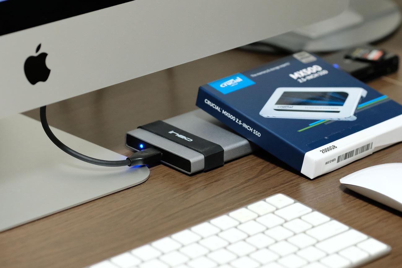 外部SSD USB-C対応