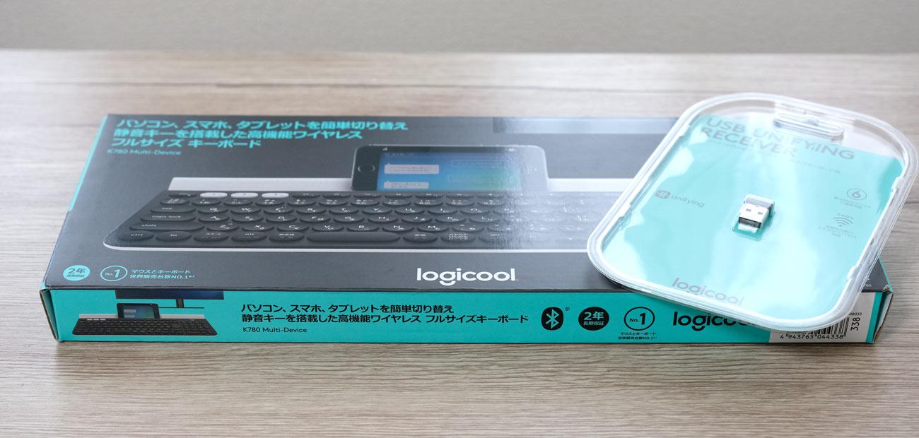 Logicool K780 パッケージデザイン