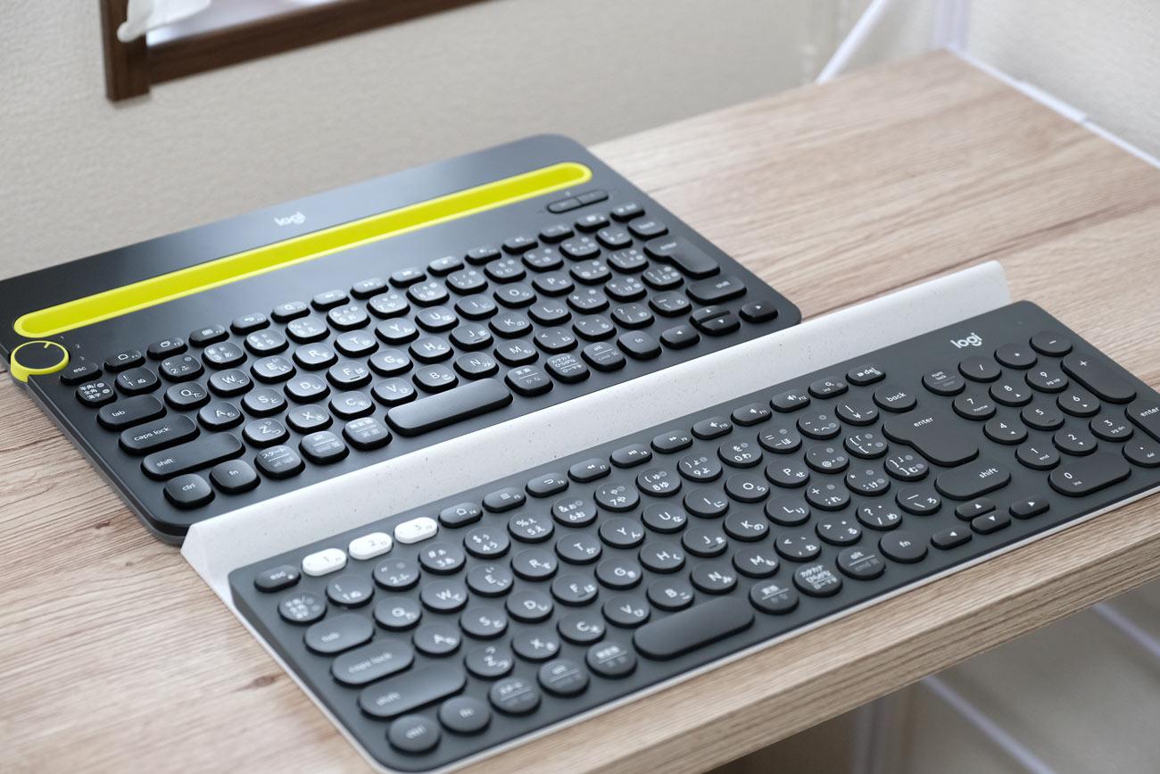 Logicool K480とLogicool K780