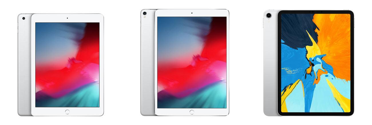 iPadシリーズの画面サイズの違い