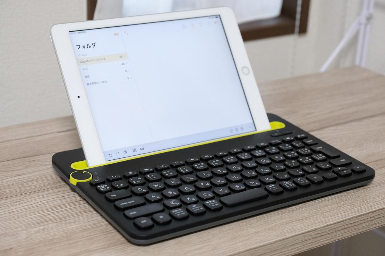 Logicool K480 + iPad