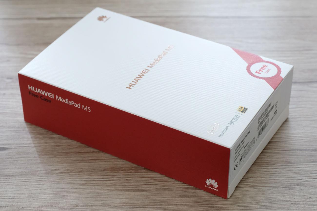 MediaPad M5 パッケージデザイン