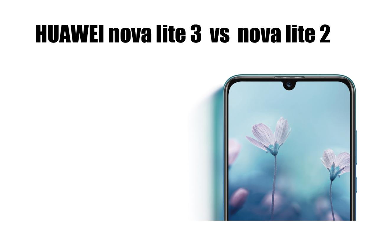 nova lite 3とnova lite 2のスペック比較