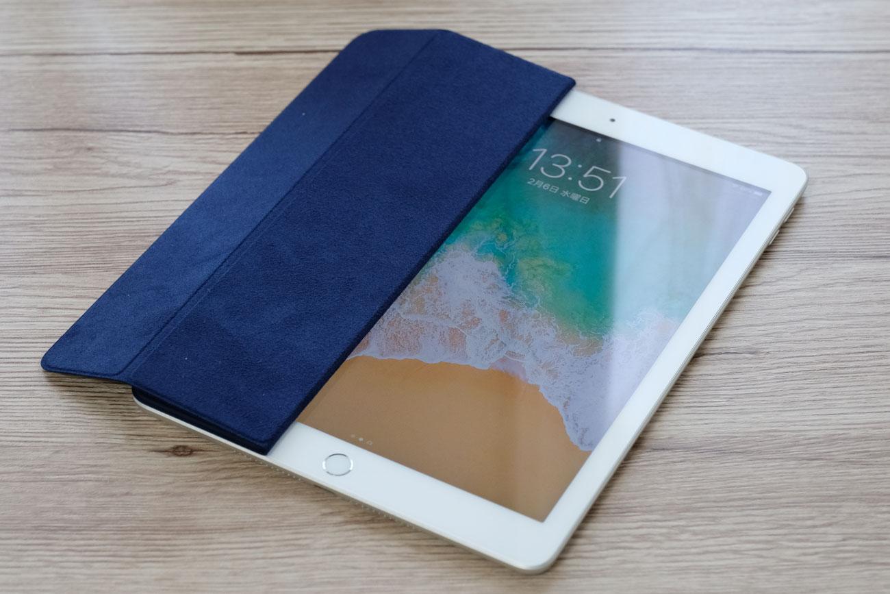 iPad(第6世代)とスマートカバー