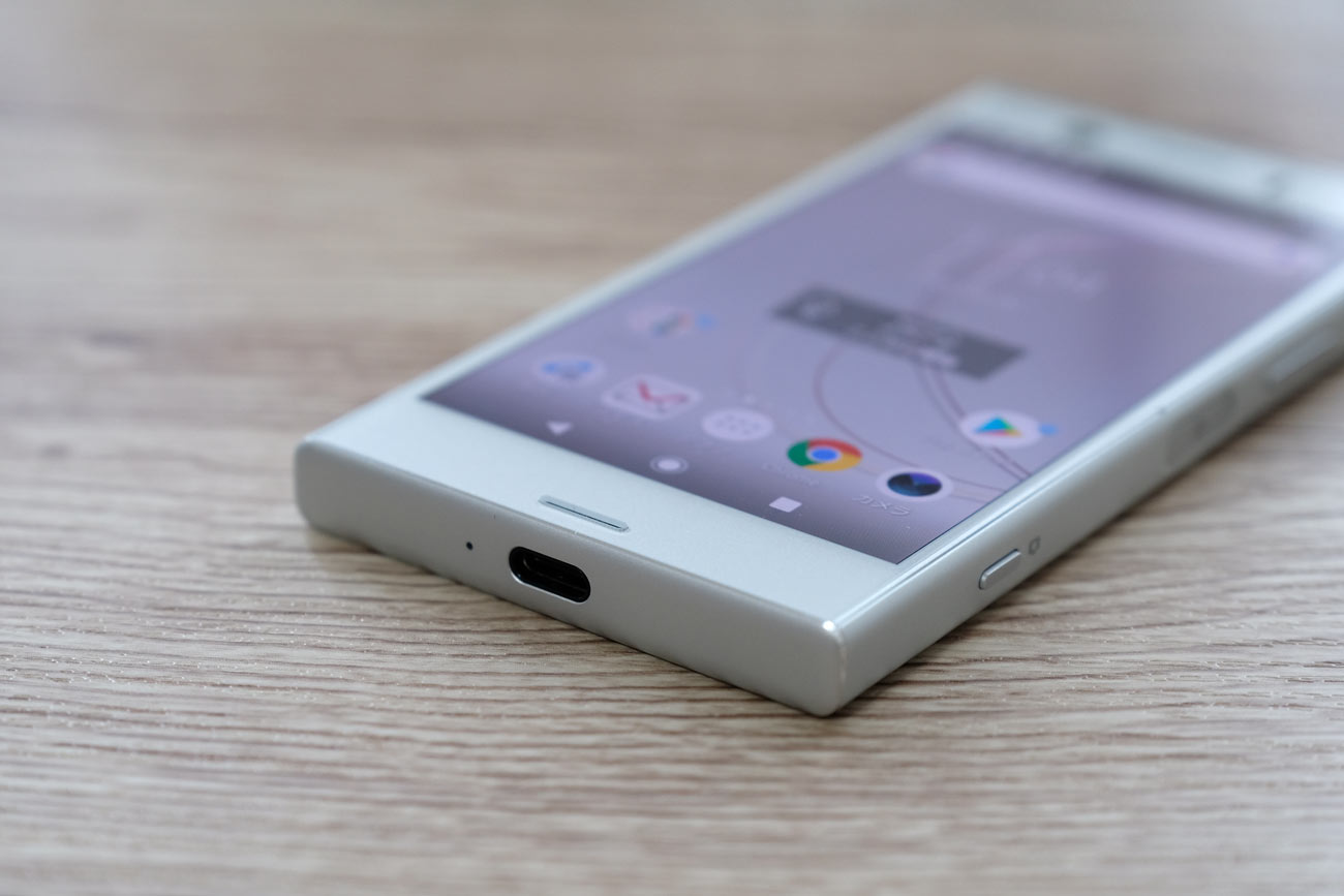 Xperia XZ1 Compact USB-Cポート