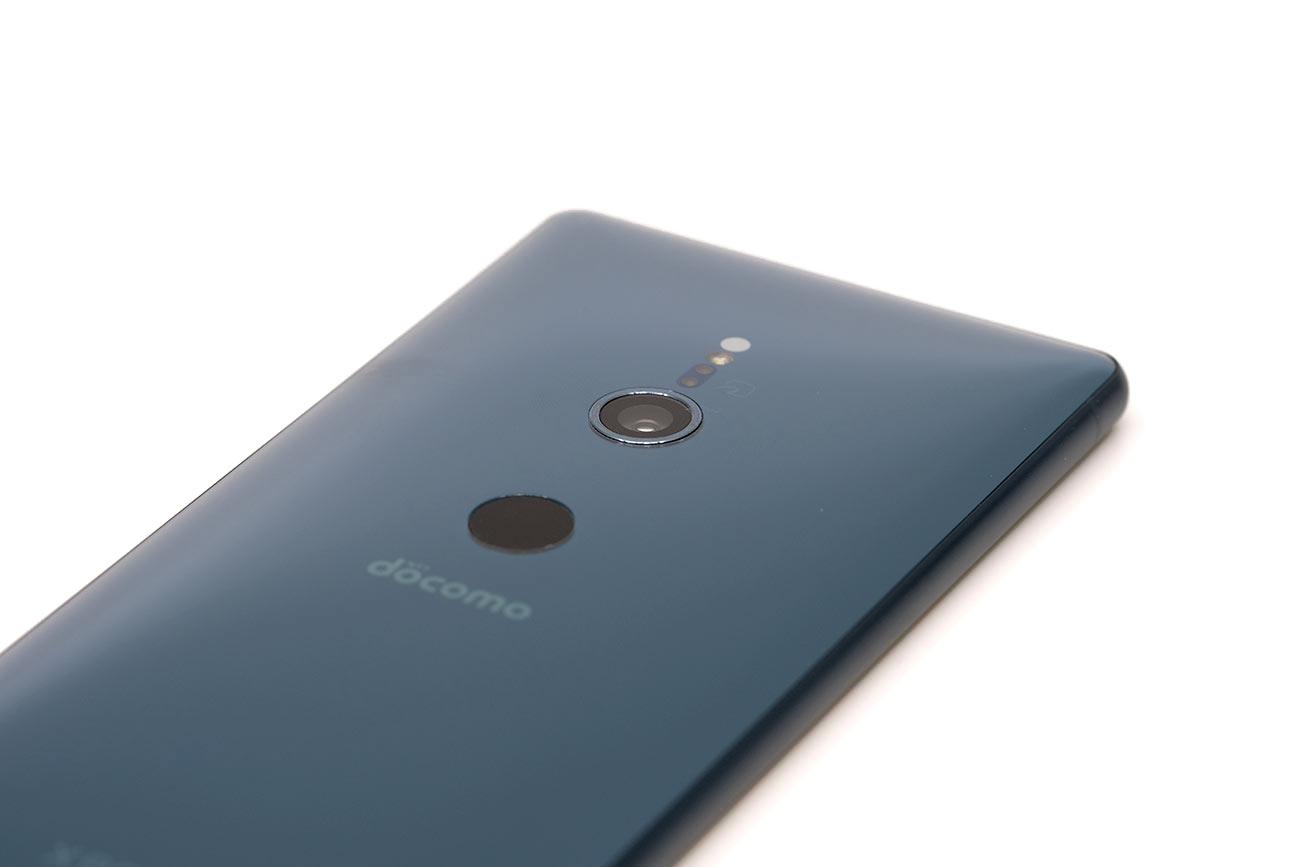 Xperia XZ2 メインカメラと指紋認証