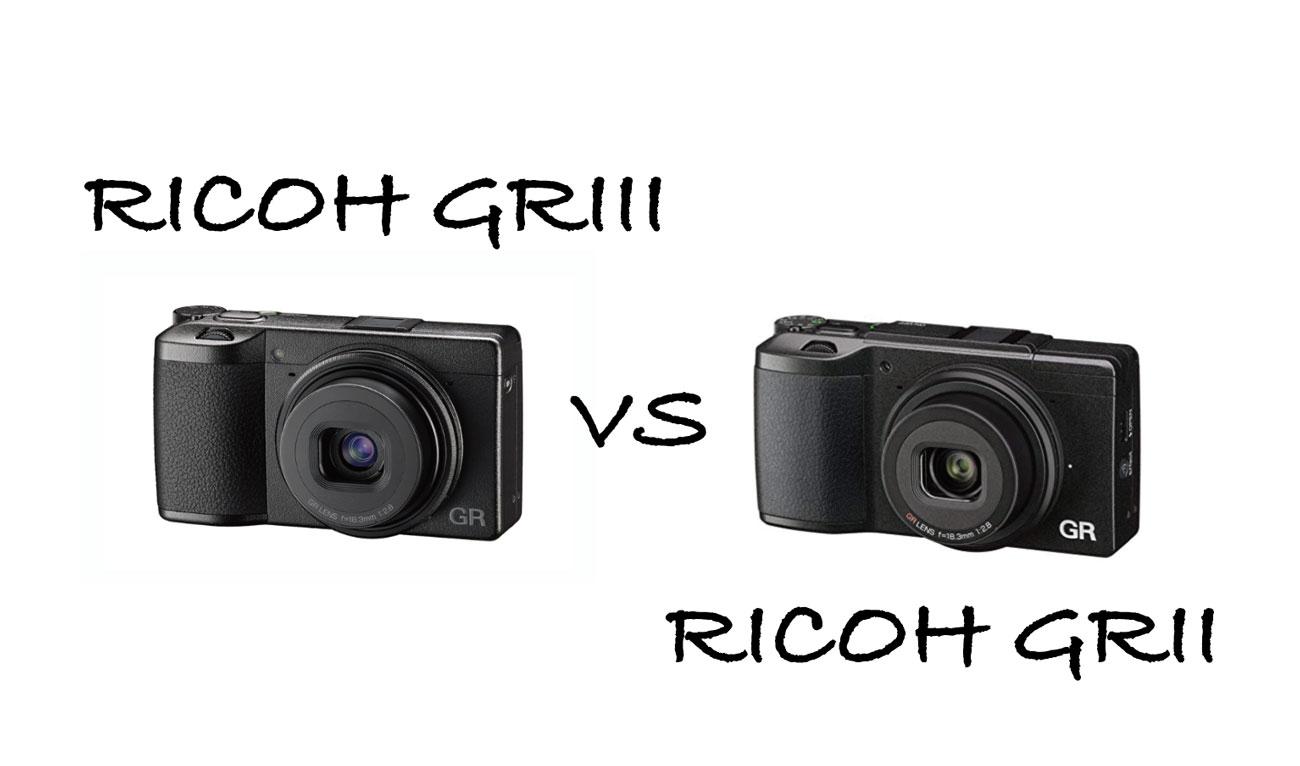 RICOH GR3 vs RICOH GR2 違いを比較