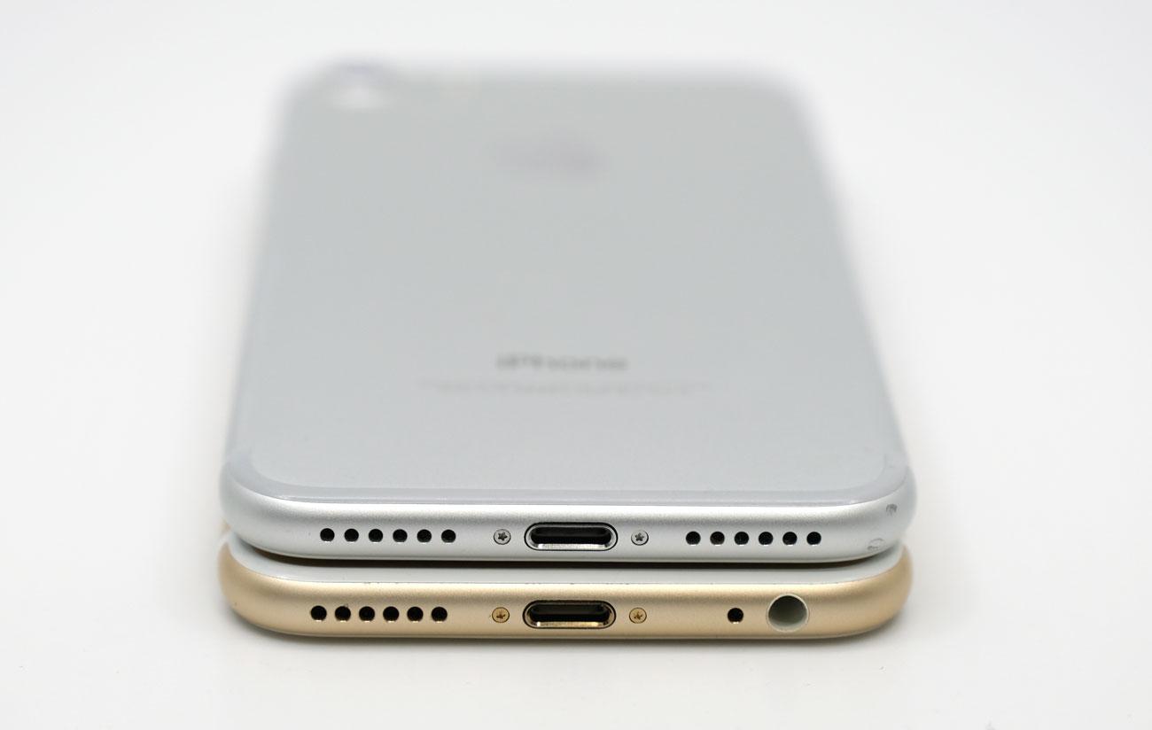 iPhone 7とヘッドフォンジャックの有無