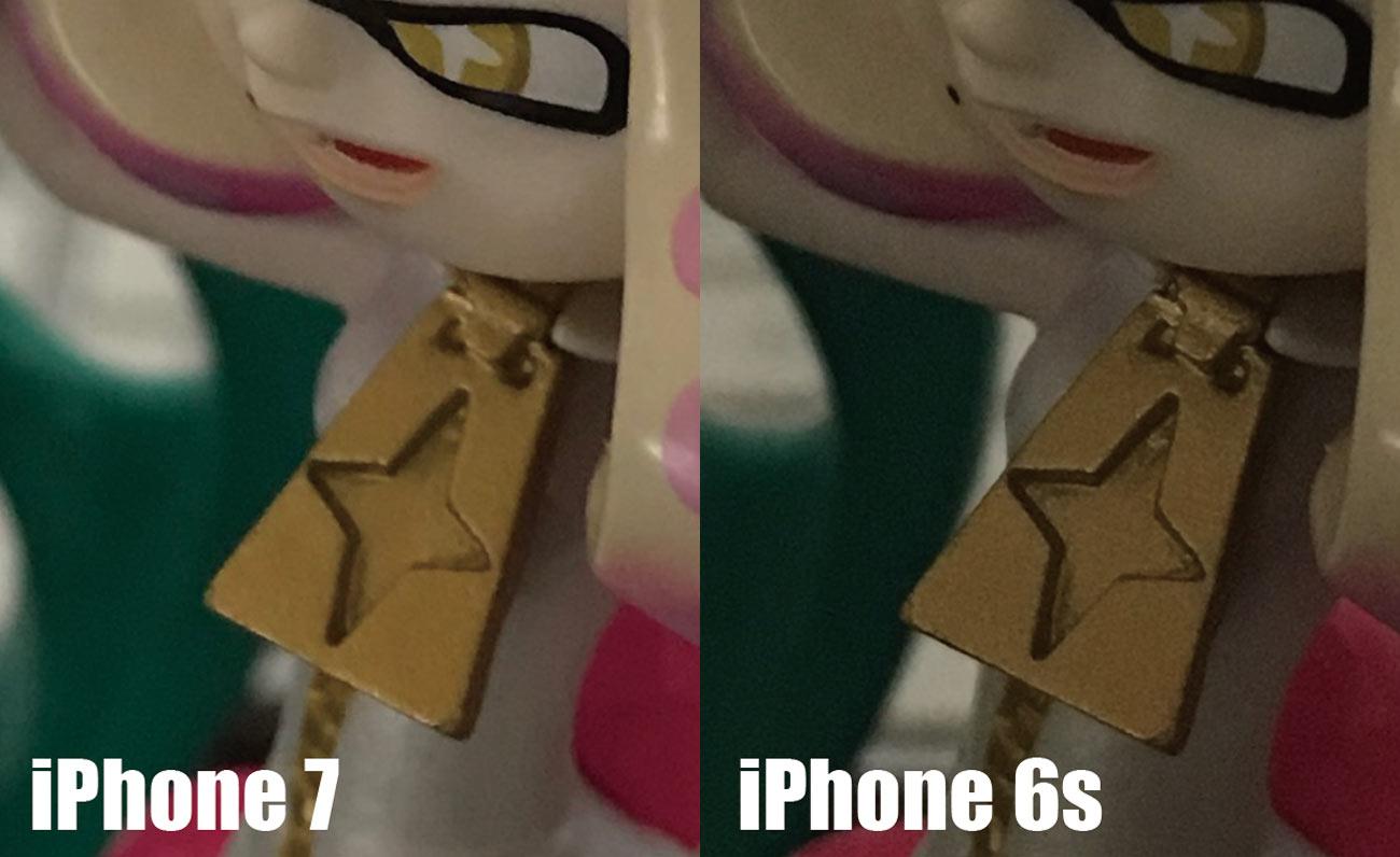 iPhone 7とiPhone 6s メインカメラ ノイズの違い