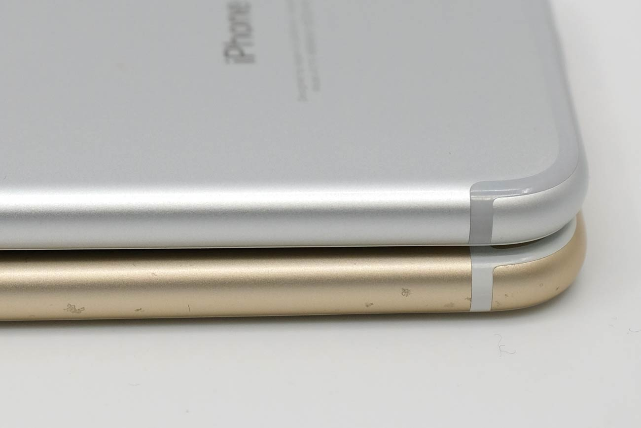 iPhone 7と6s アルミ素材の耐久性の違い