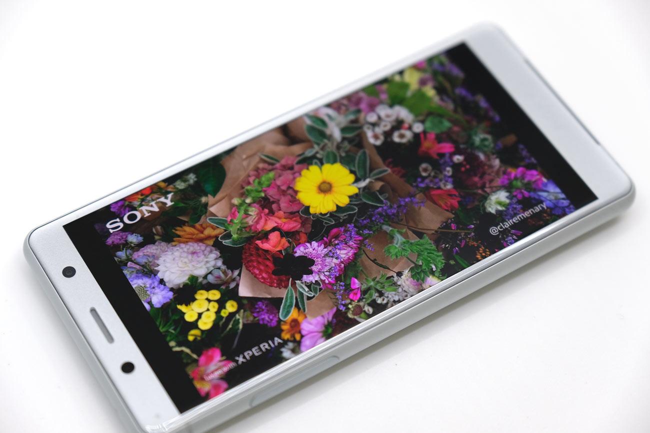 Xperia XZ2 Compact 画面の画質