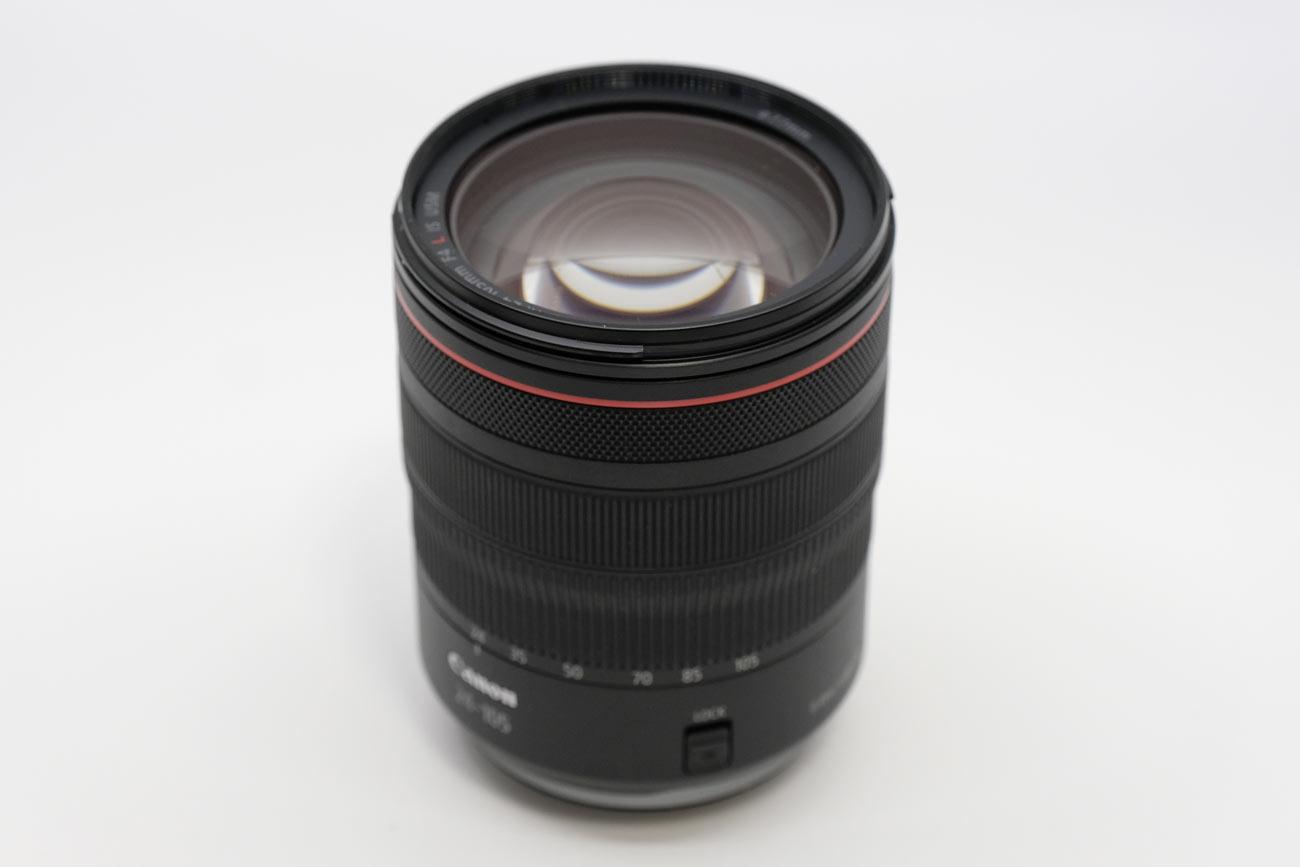 RF24-105mmF4 レンズのデザイン