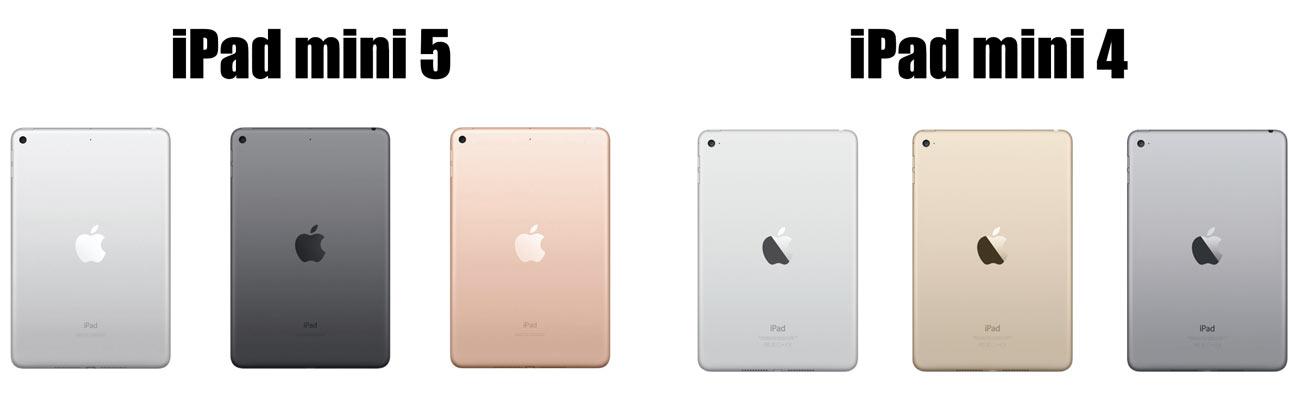 iPad mini 5 カラーバリエーション
