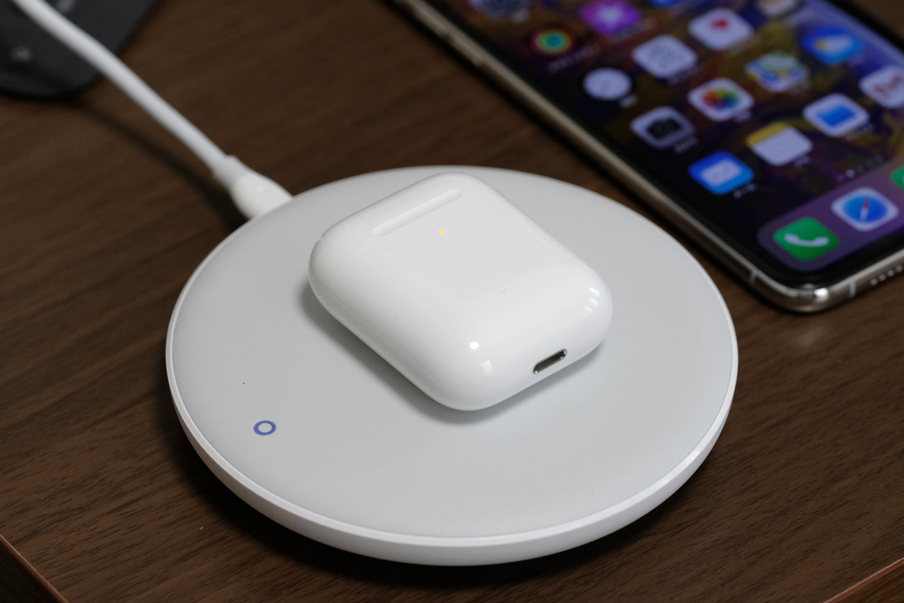 AirPods(第2世代)ワイヤレス充電