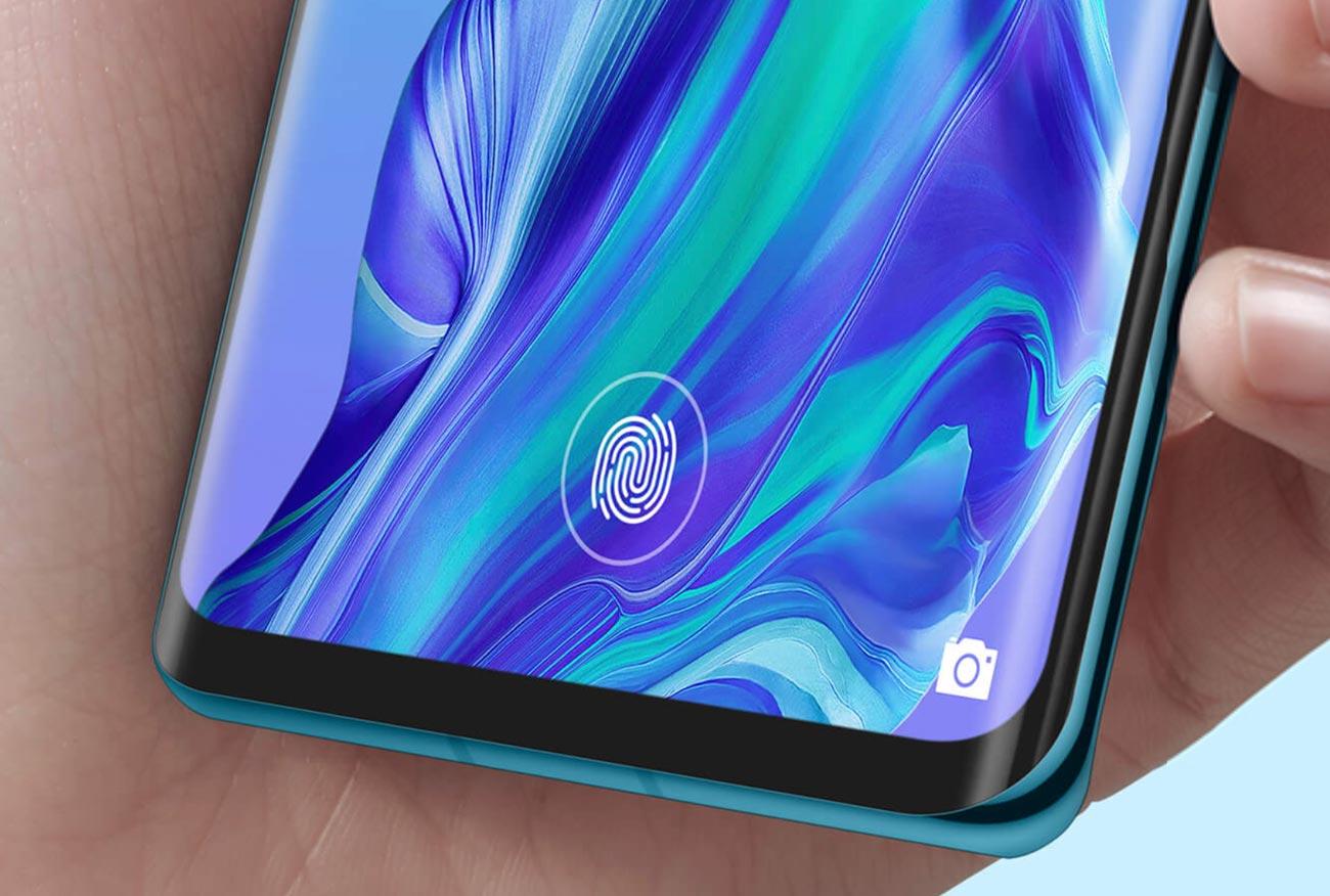 P30 Pro ディスプレイ内蔵式指紋認証